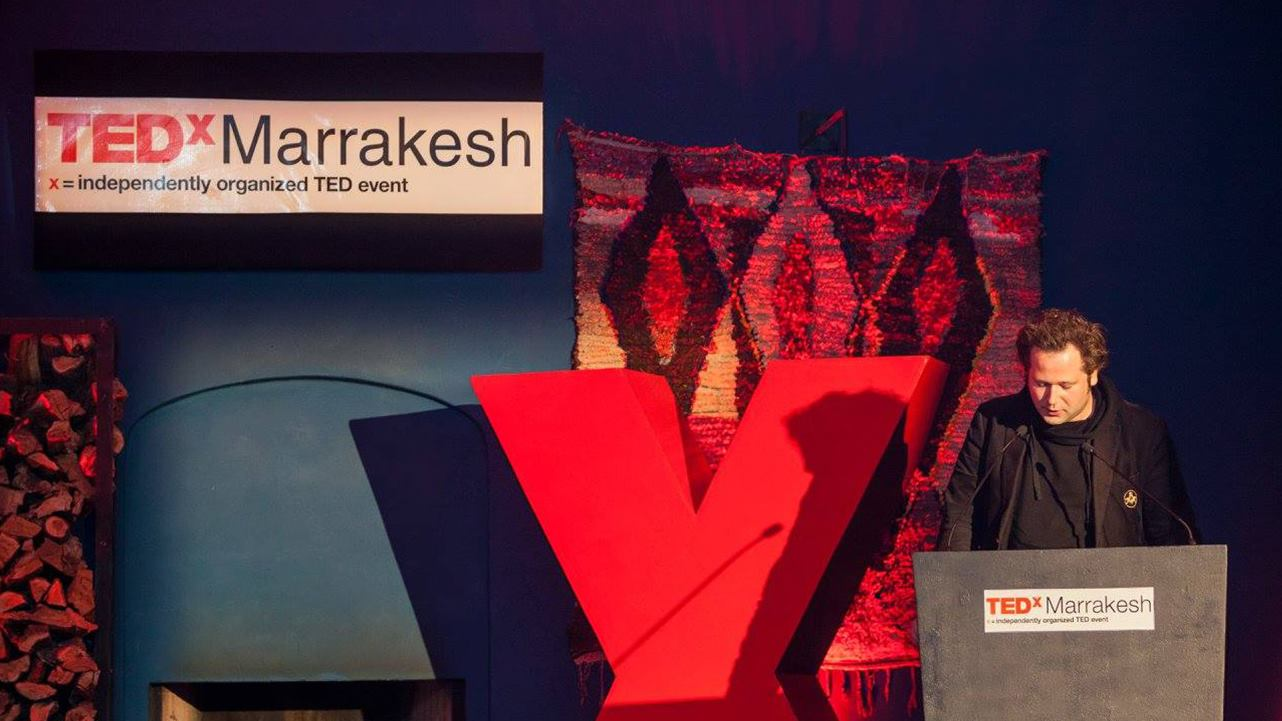 Livestream crowdfunding-app in Marrakech, Marokko